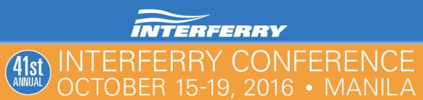"""41st ANNUAL INTERFERRY CONFERENCE"""