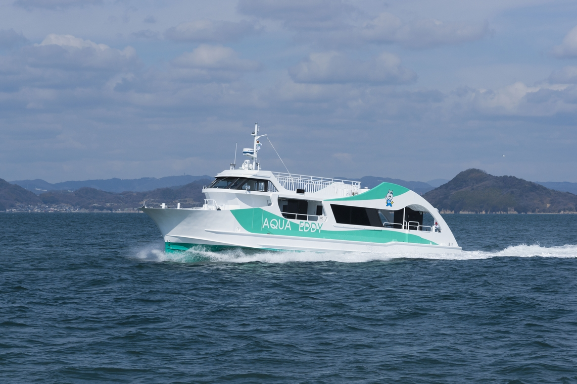"TSUNEISHI FACILITIES & CRAFT completes construction and delivery of the underwater sightseeing boat ""AQUA EDDY"""