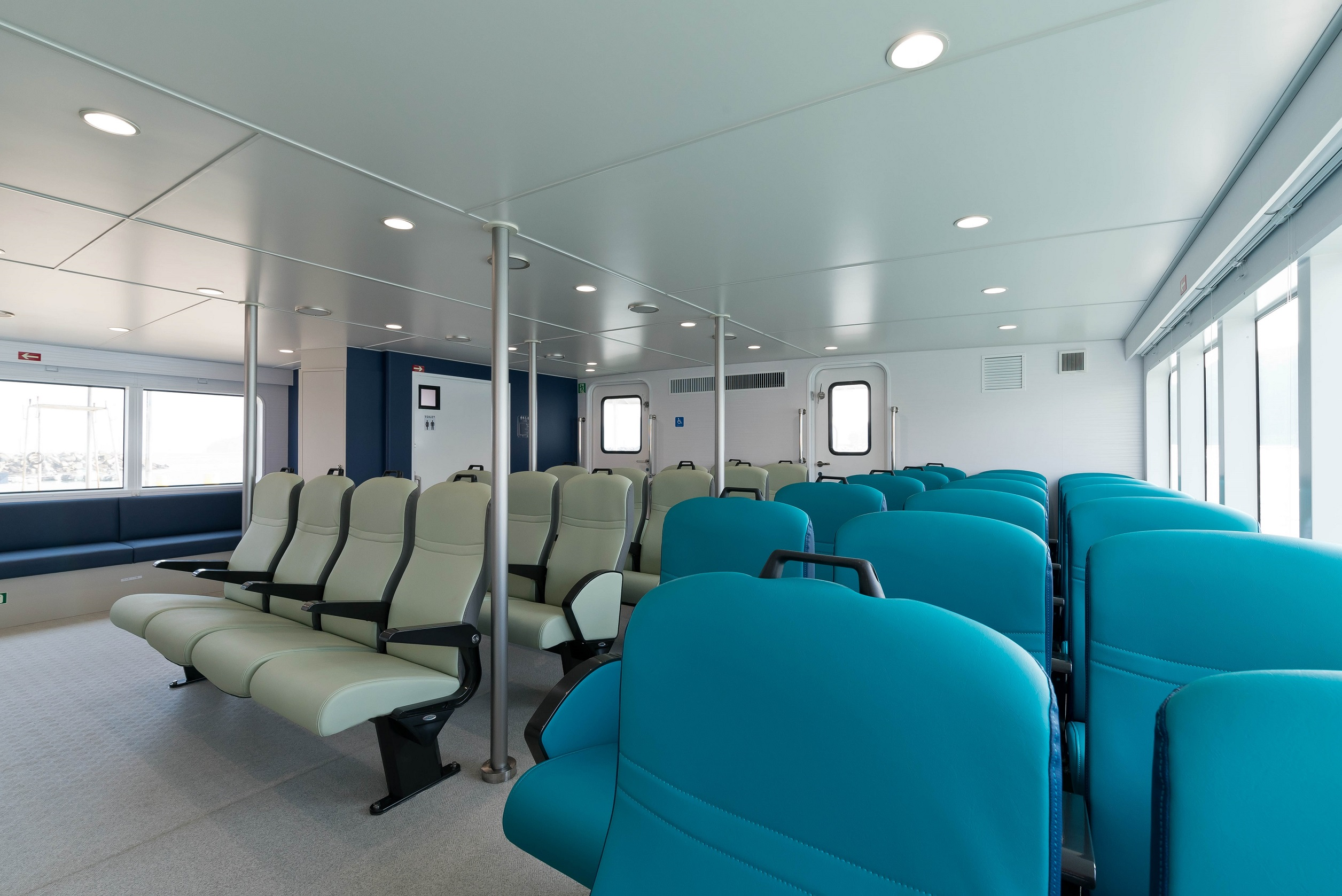 "Passenger rooms in ""Ferry KUDAKA III"""